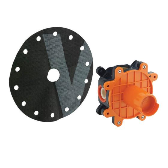 Sistema de empotrado para duchas american standard colombia for Duchas grival colombia