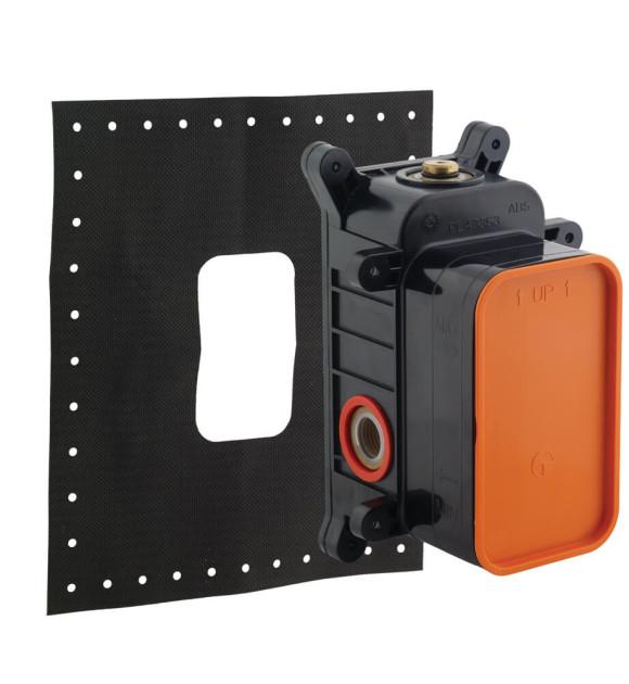 Sistema empotrado para ducha Fluid o Duo quadrato - American Standard